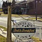 Carter Run Inn 1 Art Print