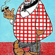 Cartoon 05 Art Print by Svetlana Sewell