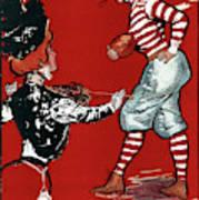 Cartoon Football, 1901 Art Print