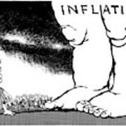 Inflation, 1978 Art Print