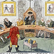 Cartoon: Surgeons, 1811 Art Print