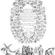 Cartouche, 1635 Art Print