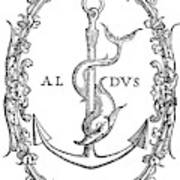 Cartouches, 1545 Art Print