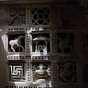 Carvings Of Jainism Art Print