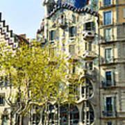 Casa Batllo - Barcelona Spain Art Print