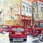 Casa Pinet In Tarbena Art Print