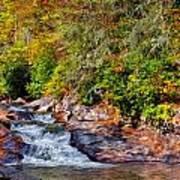 Cascade Of Water Art Print