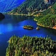 Cascades Lake Art Print