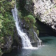 Cascading Waterfalls Art Print
