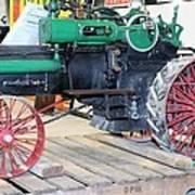 Case Steam Tractor Art Print