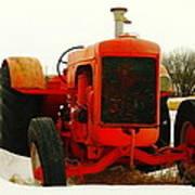 Case Tractor Art Print