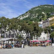 Casemates Square In Gibraltar Art Print
