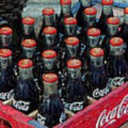 Classic Case Of Coca Cola Art Print