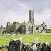 Cashel Abbey Art Print