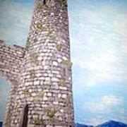 Cashel Tower Ireland Art Print