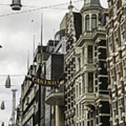 Casino Arcade Damrak Amsterdam Art Print