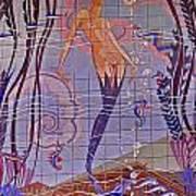 Casino Mermaid Art Print