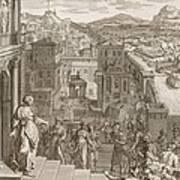 Cassandra Foretells The Trojans Their Art Print