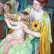 Cassatt's Mother And Child Art Print