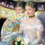 Cassatt's The Loge Art Print