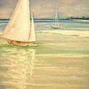 Castaway Art Print by The Beach  Dreamer