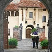 Castello Di Malpaga Art Print