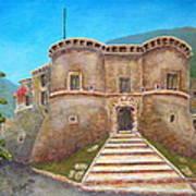Castello Ducale Di Faicchio Art Print