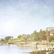 Castine Harbor Maine Art Print