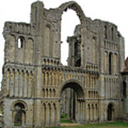Castle Acre Abbey Art Print