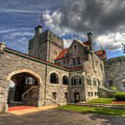 Castle Administration Building Art Print