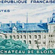 Castle Blois Art Print