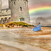 Castle By The Sea Art Print