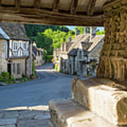 Castle Combe - View Art Print
