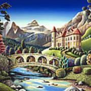 Castle Creek Art Print