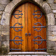 Castle Door Art Print
