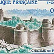 Castle Fougeres Art Print