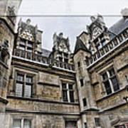 Castle In The Clouds Paris France Art Print