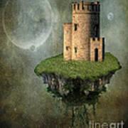 Castle In The Sky Print by Juli Scalzi
