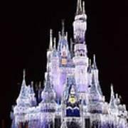 Castle In Winter Art Print