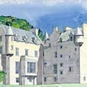 Castle Menzies Art Print