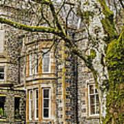 Castle Of Scottish Highlands Art Print