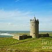 Castle On The Coast Of Ireland Art Print