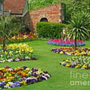Castle Park Gardens  Art Print