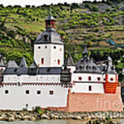 Castle Pfalzgrafenstein Art Print
