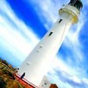 Castle Point Lighthouse Art Print