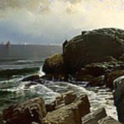 Castle Rock At Marblehead Art Print