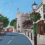 Castle Street Dalkey Art Print