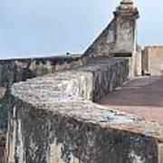 Castle Walls 2 Art Print