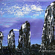 Castlenalact Standing Stones Art Print