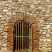 Castles Door. Art Print